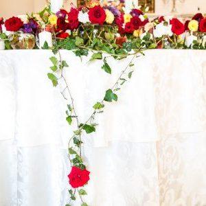 Aranjamente Florale Prezidiu din dalii