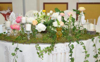 Aranjamente florale nunta 2017  Caro
