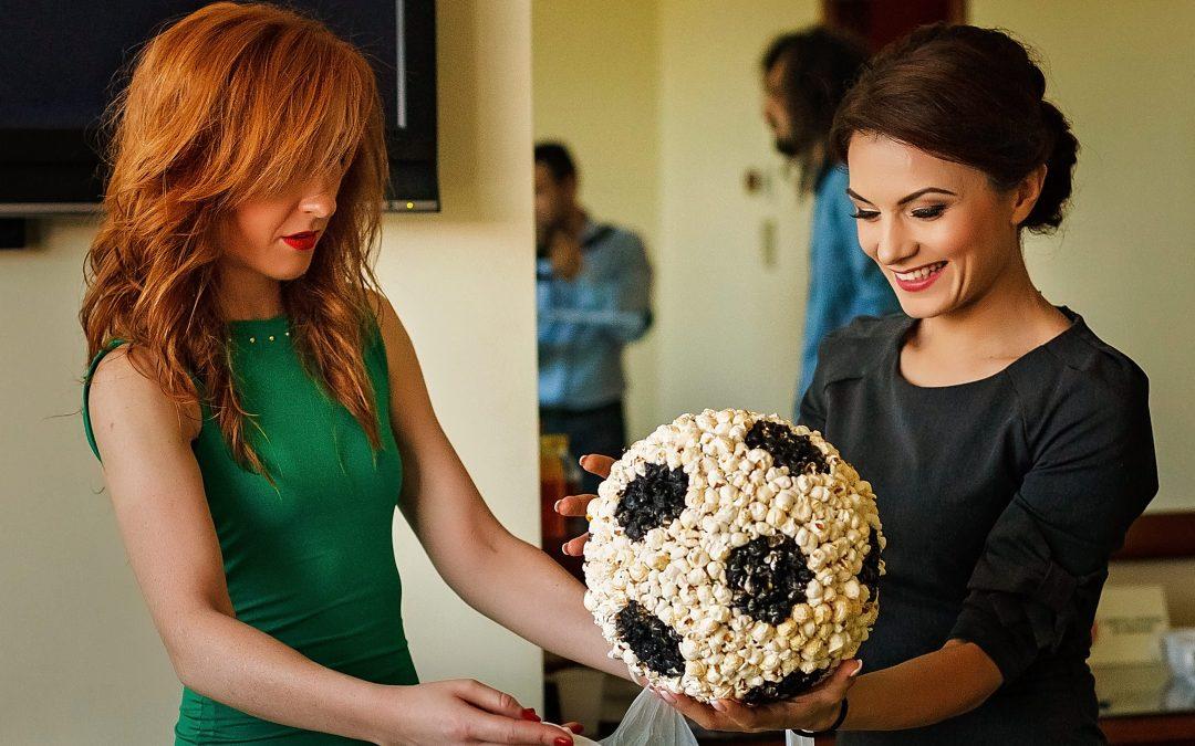 Nunti Personalizate – Aranjamente Florale Nunta Fotbal