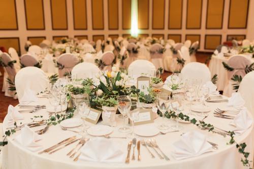 aranjamente florale nunta Caro