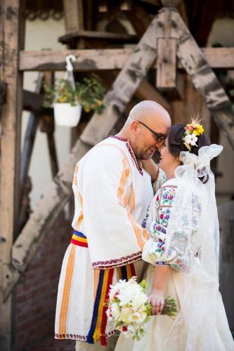 aranjamente florale nunta traditionala